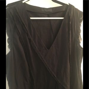 NWT black dress anthropology